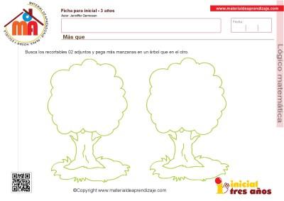 Colección de ficha para trabajar razonamiento Lógico matemático educación Infantil21