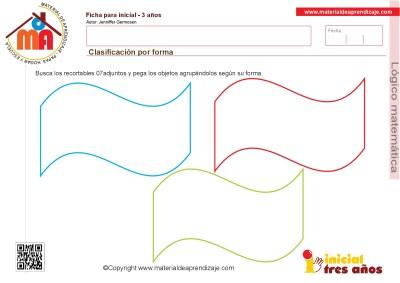 Colección de ficha para trabajar razonamiento Lógico matemático educación Infantil26