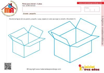 Colección de ficha para trabajar razonamiento Lógico matemático educación Infantil4