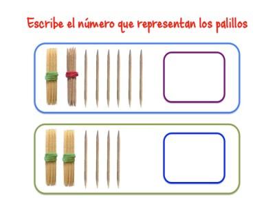 ABN Escribe el número que representan los palillos unidades de millar3