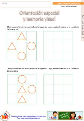 04 inicial 1 orientaci¢n espacial y memoria visual