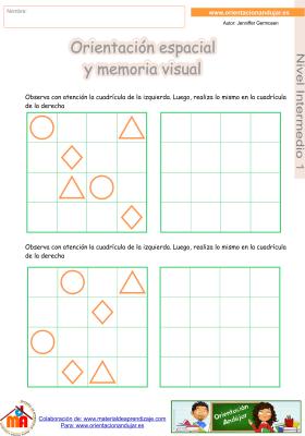 06 Intermedio 1 orientaci¢n espacial y memoria visual