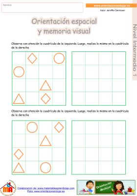 11 Intermedio 1 orientaci¢n espacial y memoria visual