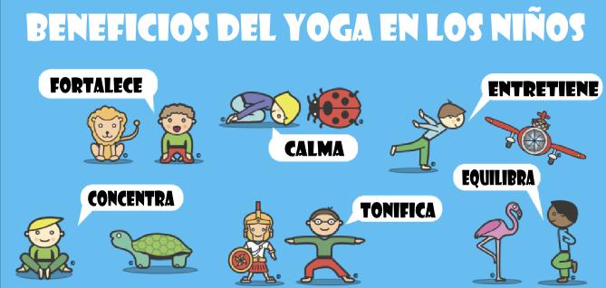 El yoga en los niños y niñas beneficios y posturas animales 364dbb7633ca