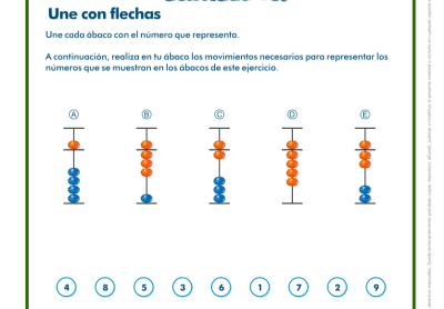 ACTIVIDADES ÁBACO INFANTIL Y PRIMEROS CICLOS