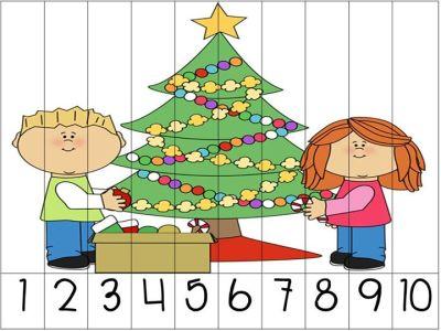 rompecabezas numericos para navidad (3)