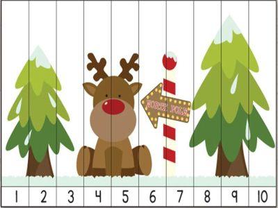rompecabezas numericos para navidad (5)