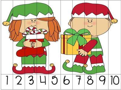 rompecabezas numericos para navidad (6)