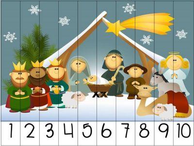 rompecabezas numericos para navidad (8)
