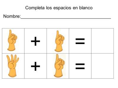 vamos a sumar con los dedos (11)