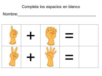 vamos a sumar con los dedos (13)