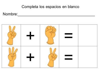 vamos a sumar con los dedos (14)