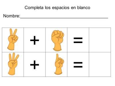 vamos a sumar con los dedos (18)