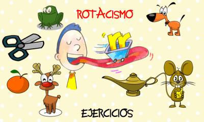 """EJERCICIOS Rotacismo dificultad y problemas para pronunciar la """"r"""" fantástico documento"""