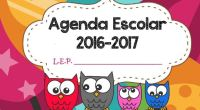 Os presentamos esta Magnifica Agenda para el curso escolar 2016-2017. Con Calendario, directorio telefónico, cumpleaños, horario, efemérides por meses o registros de observación. Esta organizada por meses y proximamente la […]