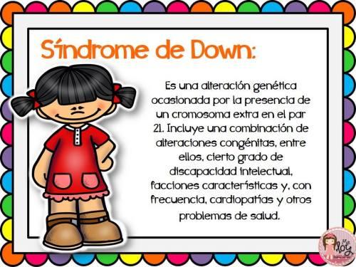 Láminas con definiciones de los distintos trastornos y síndromes  (10)