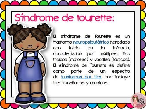 Láminas con definiciones de los distintos trastornos y síndromes  (13)