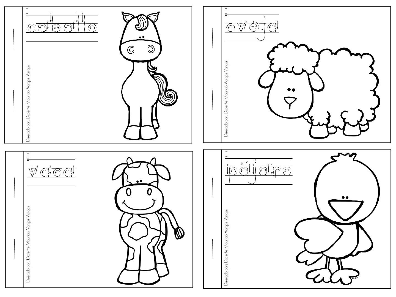 Mi Libro De Colorear De Animales Domesticos 2