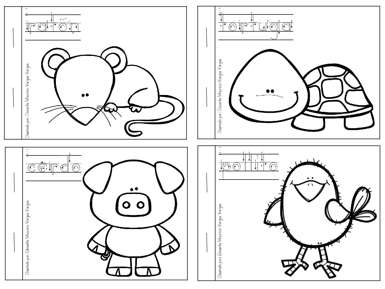 Mi libro de colorear de animales domesticos (3) - Orientación ...