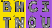 Os hemos preparado este fantástico abecedario o alfabeto para trabajar la motricidad dado su forma de carretera es ideal para los más peques. El control de la motricidad fina es […]