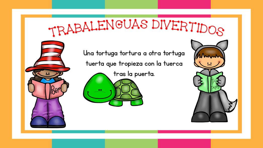 TRABALENGUAS PRIMARIA DIVERTIDOS