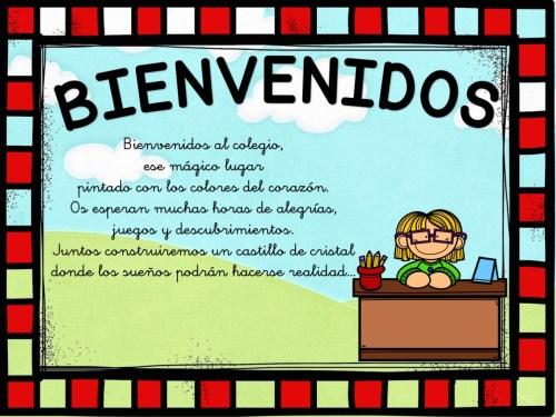 cartel de bienvenida 6
