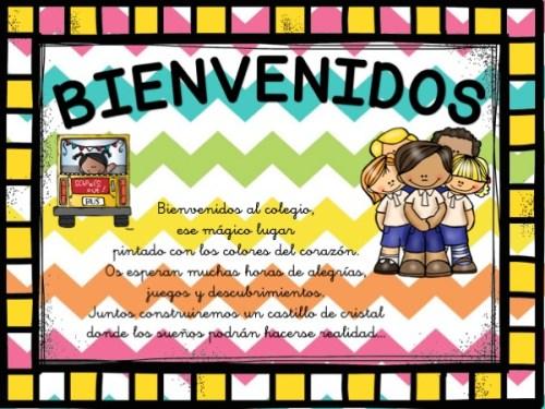 carteles de bienvenida infantil y primaria3