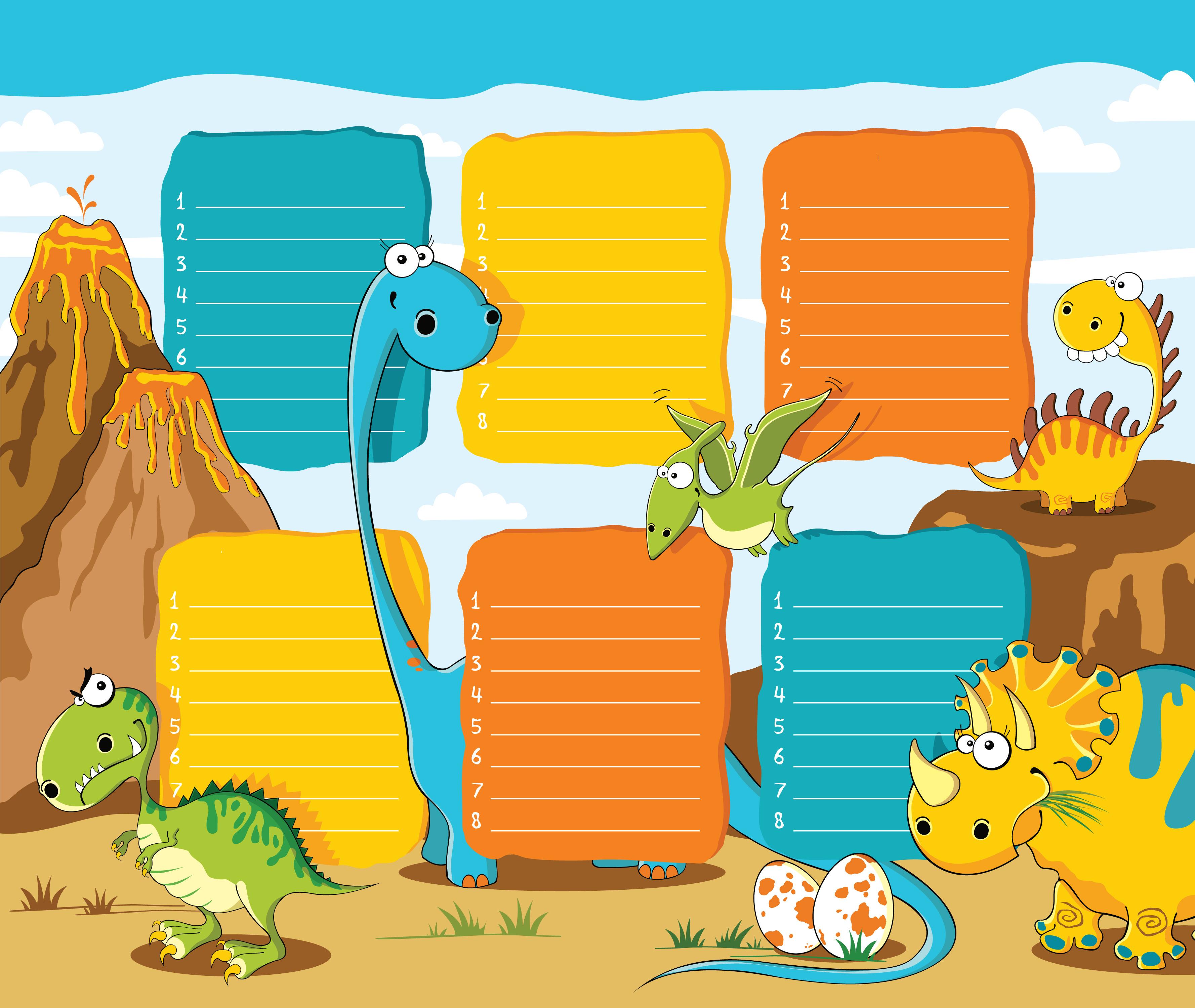 horario-dinosaurios-mudo