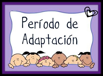 Período de adaptación para la clase de 2 y 3 años -Orientacion Andujar