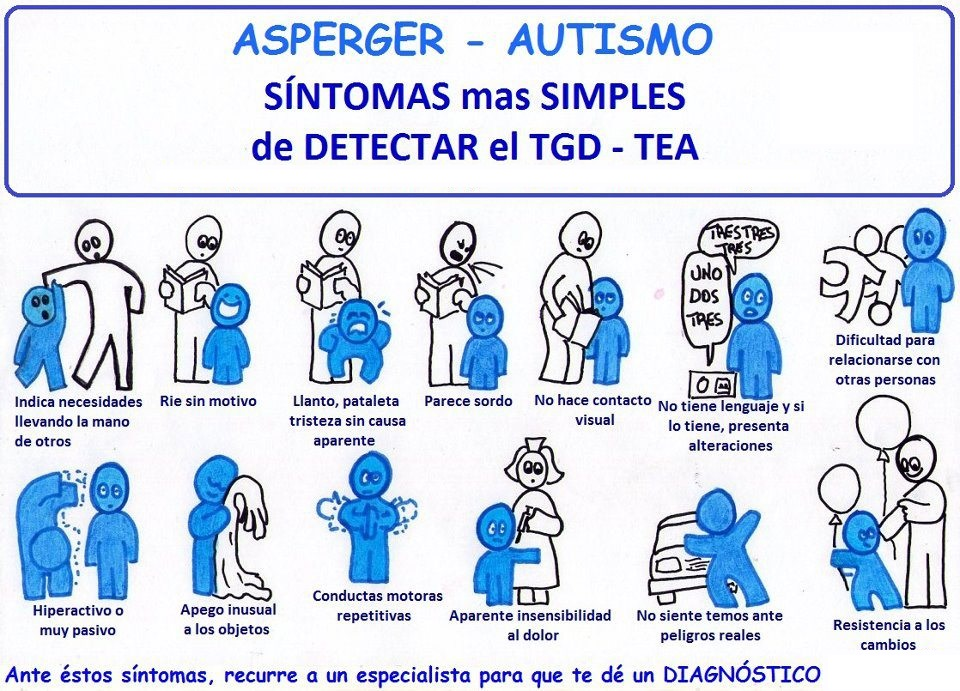 diferencias entre autismo y s ndrome de asperger orientacion andujar. Black Bedroom Furniture Sets. Home Design Ideas