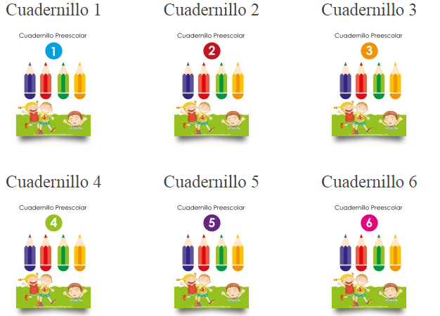 Actividades para infantil o preescolar 10 cuadernillos 200 fichas de  material de aprendizaje -