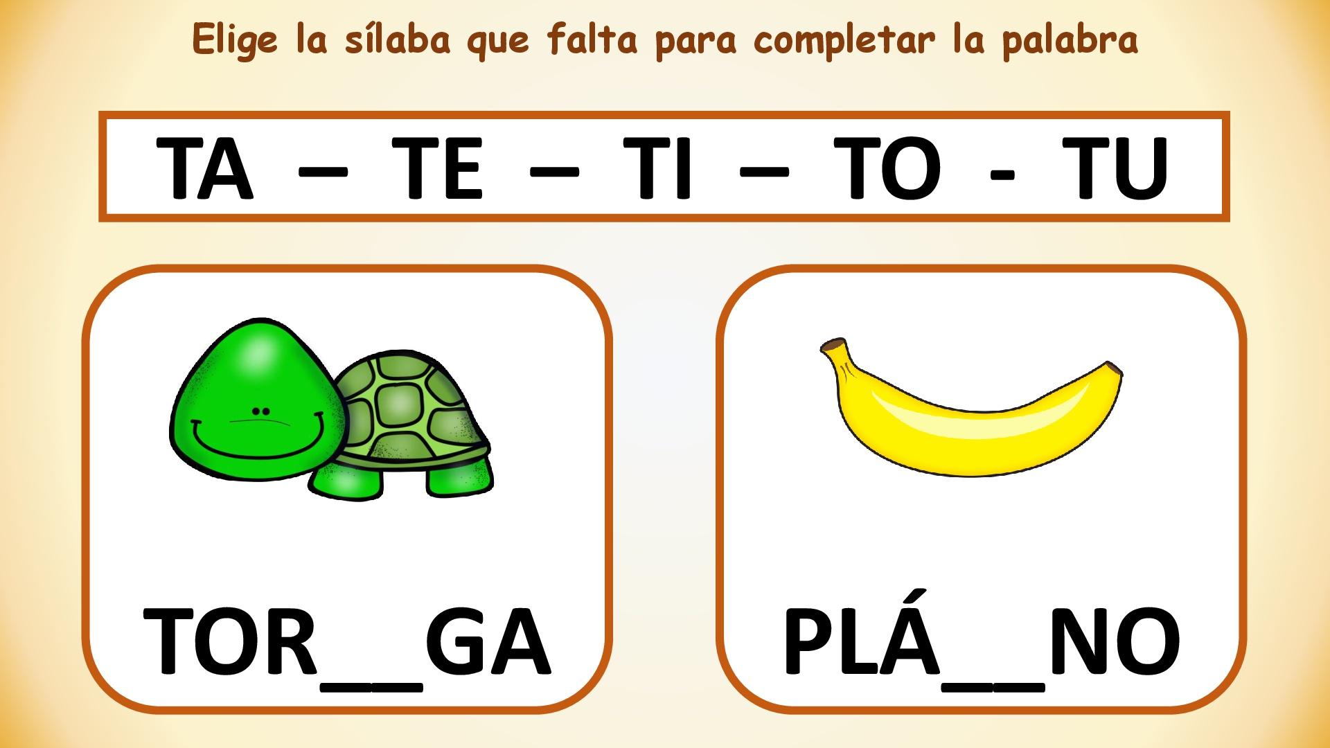 Conciencia Silabica Fuga De Silabas 014