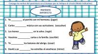 Los verbos son las palabras que indican la acción que realizan o el estado en el que están las personas, los animales, las plantas o las cosas.    […]