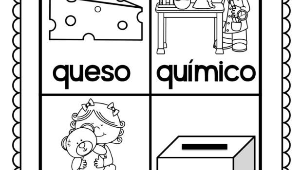 Divertidas láminas para colorear y trabajar todas las palabras del ...