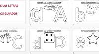 Conjunto de actividades para trabajar el trazo de todas las letras del abecedario, hemos incluido unos divertidos dibujos para que nuestros peques los coloreen. DESCARGA EL ARCHIVO EN PDF TRAZA […]