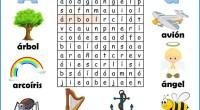 DESCARGA LA SOPA EN PDF Sopa de letras del abecedario