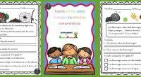 Otra interesante colaboración que nos llega desde el blog http://www.actividadesdeinfantilyprimaria.com/ Textos cortos para trabajar las lecturas comprensivas en primaria    Descarga el recurso en formato PDF Textos cortos […]