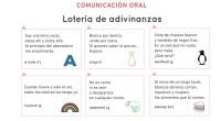 En este documento encontrarás la descripción de la actividad de comunicación oral y todos los recursos necesarios para llevarla a cabo. La Lotería de adivinanzas es una actividad en la […]