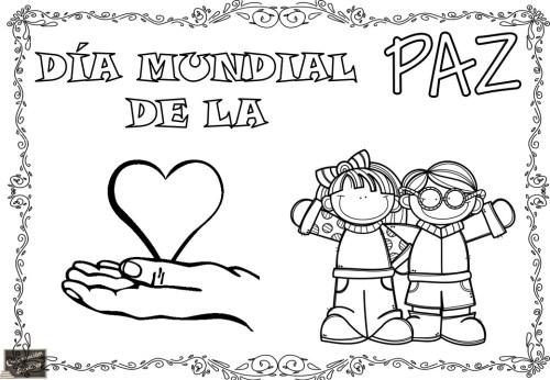 Día De La Paz Galería De Dibujos Y Carteles Niños Del: Carteles Originales Para Trabajar El Día De La PAZ En