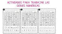 Actividades para trabajar las series numéricas. Adivina los números ocultos   Descarga el recurso en formato PDF Series numéricas. Adivina los números ocultos