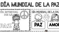 Para trabajar el clase con vuestros alumnos y decorar el aula os dejamos estos originales carteles del día mundial de la PAZ.