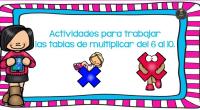 Actividades para trabajar las tablas de multiplicar del 1 al 5. Parte 1  Descarga el recurso en formato PDF Actividades para trabjar las tablas de multipicar del 1 al […]