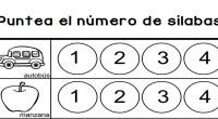 Sencilla actividad de contar sílabas en las que nuestros alumnos deben de señalar en número de sílabas de la palabra indicada, coloreando o marcando las fichas con un rotulador circular […]