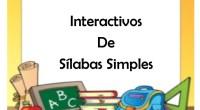 Material interactivo para trabajar las sílabas para preescolar y primaria  Cuadernillo de sílabas, correspondiente a la serie de fichas de las letras consonantes y las sílabas. En estas hojas […]