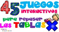 Os ofrecemos nuevas propuestas dejuegos interactivos para aprender y repasar las tablas de multiplicar, muchas de ellas sugeridas por vosotros.¡No dudéis en proponer más enlaces para compartir.
