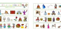 Hoy os traemos una sencilla actividad en la que nuestros alumnos/as deben de averiguar el nombre de un cuento clásico a través de una serie de pictogramas que les proporcionamos.
