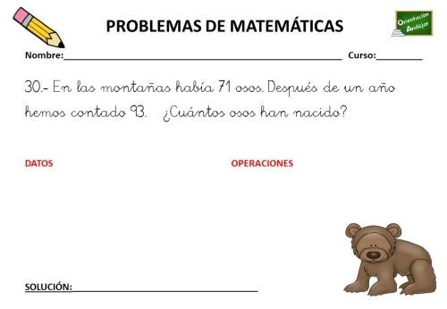COLECCIÓN DE 50 PROBLEMAS DE MATEMÁTICAS primer ciclo PRIMARIA ...