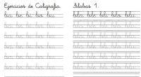 Os dejamos este cuaderno de caligrafía para trabajar con nuestros alumnos/as la motricidad fina y el aprendizaje de la lectoescritura.
