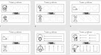 Colección de 20 fichas totalmente originales sen formato pdf e imagen con motivos primaverales Os dejamos unas sencillas actividades para trabajar la grafomotricidad en infantil.
