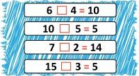 Os proponemos una sencilla actividad de matemáticas donde nuestros alumnos deberán averiguar que signo falta para resolver las siguientes operaciones, pueden ser sumas, restas, multiplicaciones o divisiones.  DESCARGAR ARCHIVO […]
